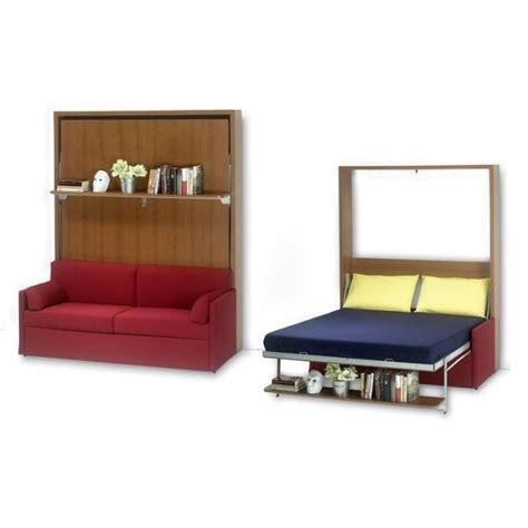 canapé lit 160x200 lit escamotable avec canapé 160x200 ledi 5l ch achat