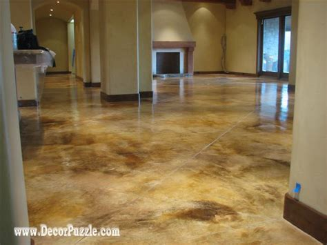 decorative floor to home how to paint concrete floors in detailed steps
