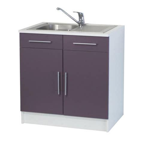 placard sous evier cuisine trendy 8 meuble sous évier 2 portes l80 cm parme achat