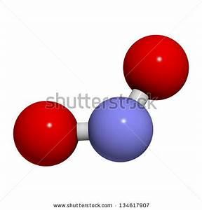 Nitrogen dioxide (NO2, NOx) toxic gas and air pollutant ...