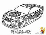 Nascar Coloring Pages Cars Sports Race Printable Cool Drawing Colouring Yescoloring Drawings Boys Fan Sport Mega Speed sketch template