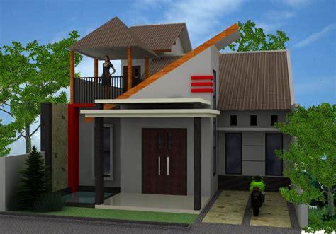 gambar desain rumah minimalis sederhana  lensarumahcom