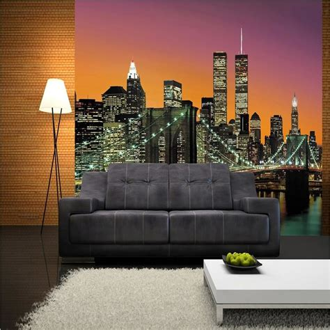 wg wall mural  york city nyc photo poster wallpaper