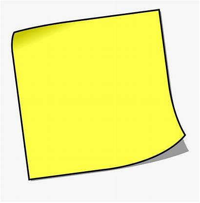 Notes Sticky Note Clip Clipart Paper Transparent
