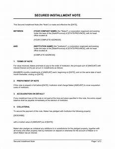 Installment plan agreement template installment payment for Installment sale agreement template