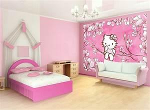 Chambre Hello Kitty : poster g ant hello kitty papier peint l xxxl d coration murale decokids tous leurs h ros ~ Voncanada.com Idées de Décoration