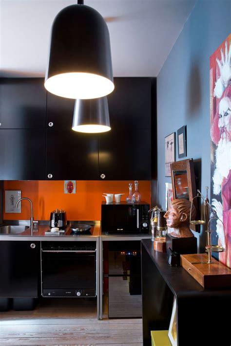 cuisine en orange cuisine des photos déco pour s 39 inspirer côté maison