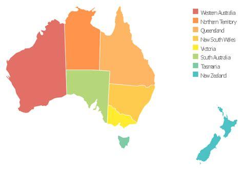 australia map draw clipart