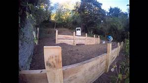 jardin en pente roots paysages youtube With amenagement jardin en pente