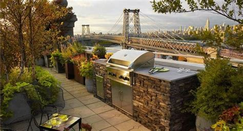 photo cuisine exterieure jardin 18 idées d 39 aménagement pour cuisine extérieure moderne