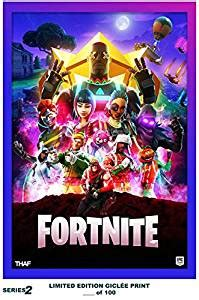 lost posters rare poster thick fortnite limited  game
