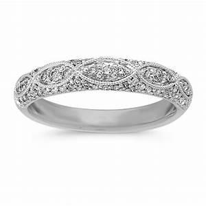 Diamond Wedding Bands Vintage Diamond Wedding Bands Rings
