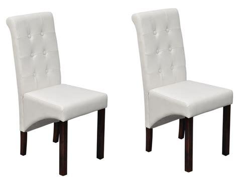 chaises de cuisine blanches chaises de salle a manger blanches 28 images leaf lot