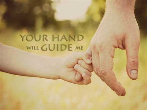 Your Hand...   Christian Wallpapers