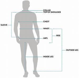 Menswear Size Charts