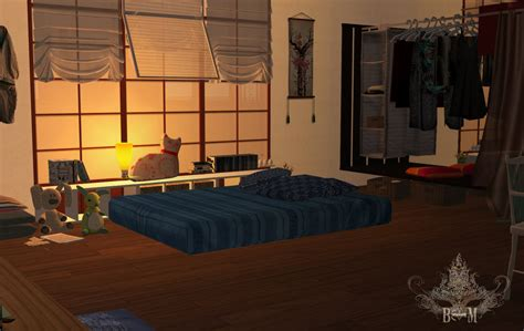 Japanese Room 1 ( Sims 2 ) By Beforethemasquerade On