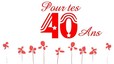 photo 40 ans f 234 ter un anniversaire pour les 40 ans joyeux anniversaire 40 ans