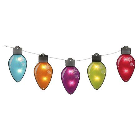 shimmering christmas lights 7 25 multi color shimmering c7 bulb light garland with 10 clear mini lights white