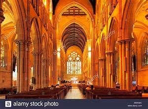 Inside the St. Mary's Cathedral, Sydney, New South Wales ...