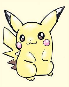 Pokemon Cute Pikachu Drawing | Games Info