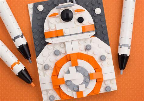 wie gemalt lego star wars moc bb  zusammengebaut