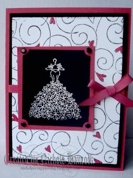 bridal shower card  nicholejanette cards  paper