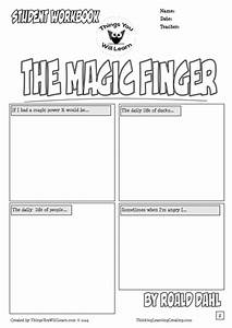 the magic finger by roald dahl comic style workbook by With roald dahl book review template