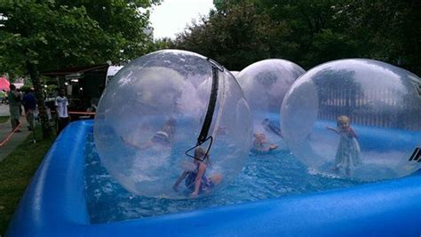 summer swimming pool inflatable human sized hamster ball