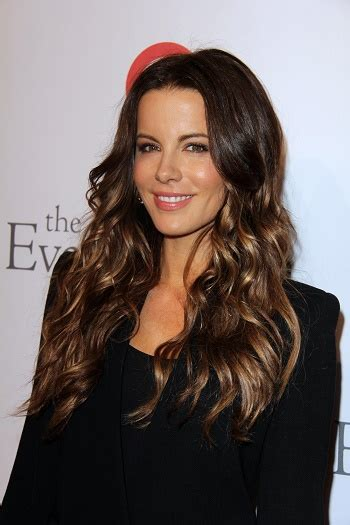 Hairstyles Kate Beckinsale's Long Beachy Hairstyle