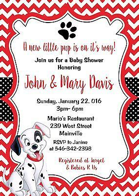dalmatians dalmatian puppy dog baby shower