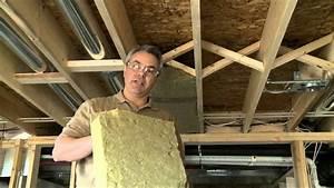 Isoler Plafond Sous Sol : comment insonoriser les plafonds entre les tages youtube ~ Nature-et-papiers.com Idées de Décoration