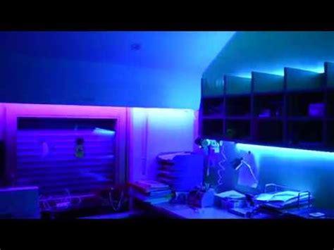 Led Beleuchtung Zimmer by Mein Zimmer Mit Led Leuchten Versch 246 Nern