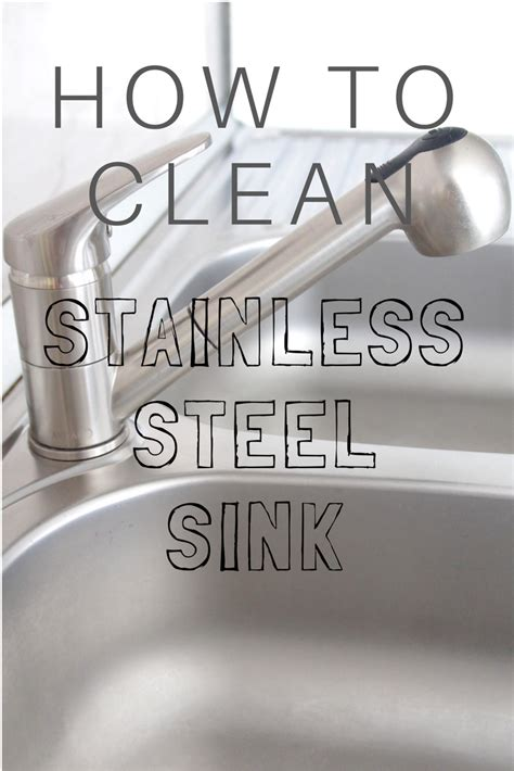 best way to clean kitchen sink drain best way to clean stainless steel sink without heavy chemicals