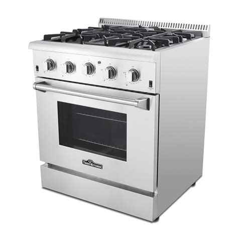 what is a kitchen range thor kitchen 30 in 4 2 cubic ft 4 element professional