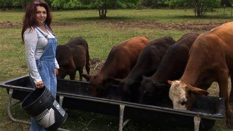 texas cattle farming vegan farm rancher couple wife bull slaughter into vegans corrals gone story calves