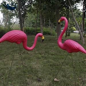 Flamant Rose Jardin : xilei gros d coratif flamant rose jardin flamant avec pieu ~ Teatrodelosmanantiales.com Idées de Décoration