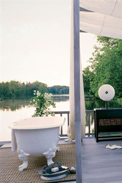 outside tub ideas 45 outdoor bathroom designs that you gonna love digsdigs