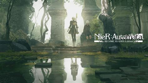 Wallpaper Nier: Automata, Become as Gods Edition, Xbox One