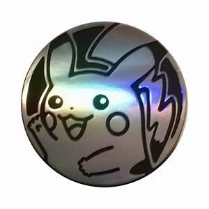 pokemon silver pikachu coin p