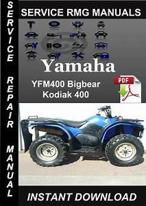 2000 Yamaha Yfm400 Bigbear Kodiak 400 Service Repair