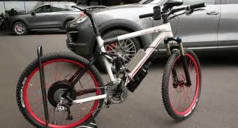 Porsche Bicycle With Hybrid Drive
