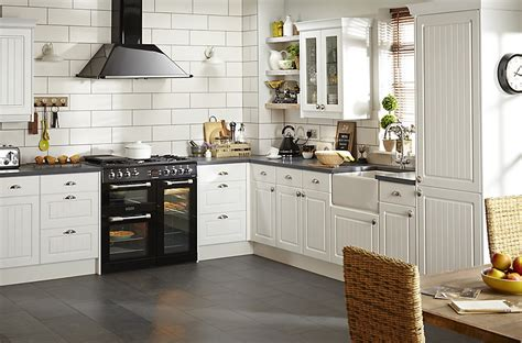 Kitchen Ideas B And Q by It Chilton White Country Style Fitted Kitchens Diy At B Q