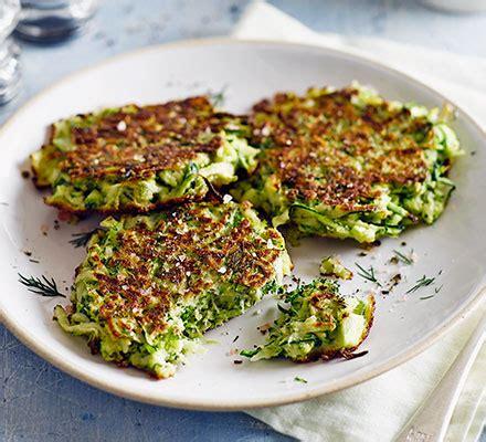 green fritters recipe bbc good food