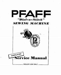 Pfaff 130 Dial
