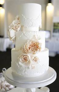 40 and simple white wedding cakes ideas page 4