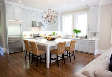 kitchen table and island combinations 27 captivating ideas for kitchen island with seating