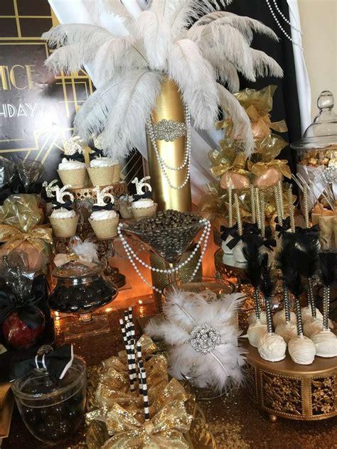 great gatsby birthday party ideas photo    catch