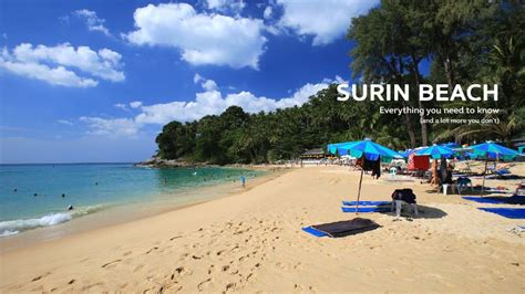 Phuket Beaches  With More Than 30 Beaches In Phuket