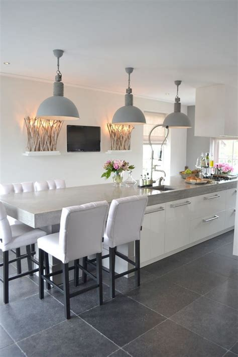 Kitchen island extension dining table. Kitchen island with table - how to create a functional dining area