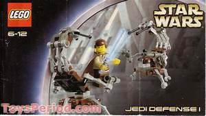 Lego 7203 Jedi Defense I Set Parts Inventory And